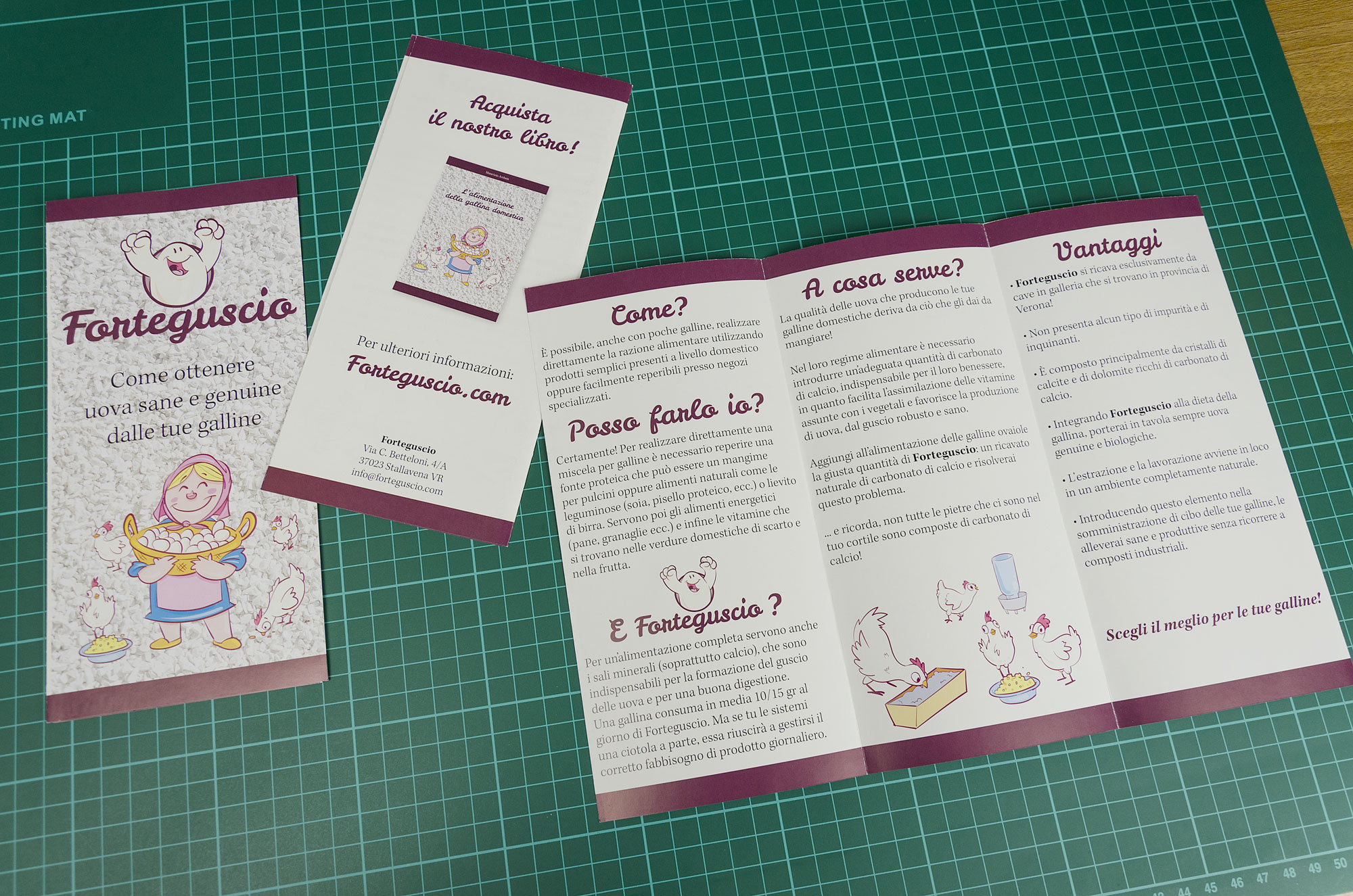 Bien connu Brochure, progettazione di cataloghi, listini e brochure a Verona KR99